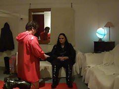 BBW Mistrzyni Lydii Slave ma sesję dominacji finansowej