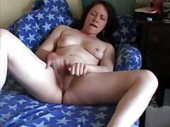Mama lubi masturbację