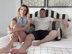 Big Cock Jock Fucks Country Girl con belle tette trafitto