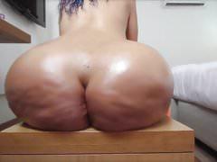 große Beute Babe ass