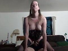Milf Riding Cock Till He Cums