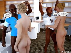 Interracial Lesson 3D Comic