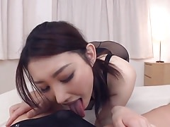 Japanese pantyhose girl