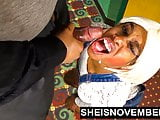 Sheisnovember Redbone Eye Cumshot Facial Blowjob in Public