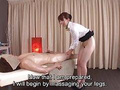 Napisy z tradycyjnym japońskim masażem bez dna Yui Hatano