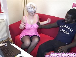 Amateur Fingering Big Tits video: german blond housewife fingering and fuck homemade by bbc