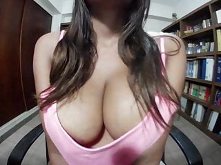 Tits Small Tits Big Tits video: Big Tit Latina Downblouse nipple Flash