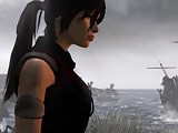 Tomb raider 2013 bottomles and hairy