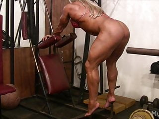 Milf Big Clit Hd Videos video: Naked Pro Female Bodybuilder Plays with Her Big Clit