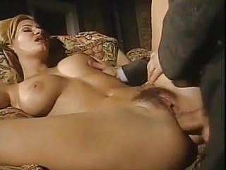 Sensitive Greta takes cock in all holes