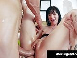 Charlotte Sartre Ass Fucked By Alex Legend & Chris Strokes!