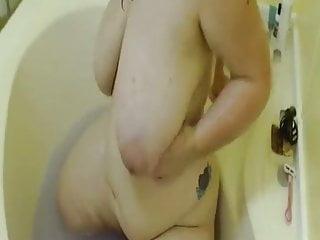 Big Boobs Bbw Webcams video: Bbw big tits webcam masturbation shower