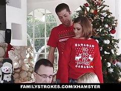 FamilyStrokes - Meine Sis während der Weihnachtsferien ficken