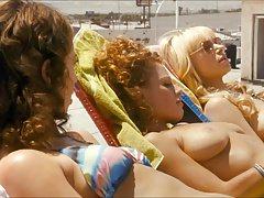 Laura Prepon & Rebecca Hall Nude Tits On ScandalPlanetCom