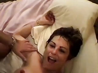 Interracial Wife Cumshot video: BBC craving wife ganged by hung bros