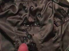 Cum on satin blouse | Porn-Update.com