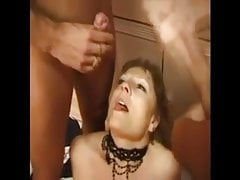 FRENCH MATURE anal bbw mom threesome double penetration
