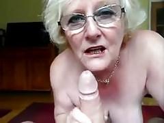 Repost schmutzige englische Oma
