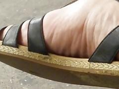Pretty feet in sandals 2