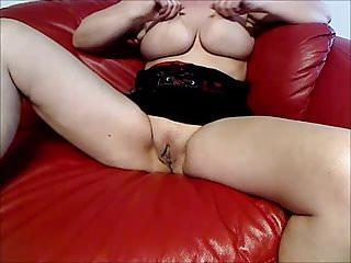 German Milfs Masturbation video: Fucking hot mom masturbates in front of many strangers