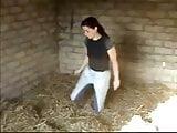 Girl Wets Her Jodhpurs