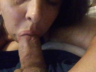 Blowjob Milf Mom video: Throbbing oral cream pie swallow