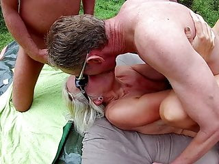 Forest Gangbang with Noire 2018 Pt3