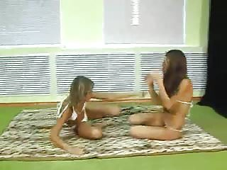 Bikini Cfnm Catfight video: Catfight