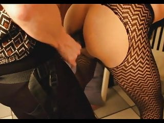 Strapon Femdom Threesome vid: Strapon Femdom Anal Pegging Doggystyle Compilation