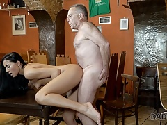 Daddy4k. Older Boy Tempts His Sons-in-law Gf For Fuck-fest On