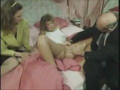Vintage niemiecka rodzina - wizyta u lekarza