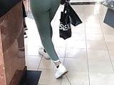 Sexy teen in leggings