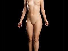 Australian nude model