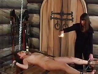 Femdom Lesbian Slave video: Lezdom - Russian Mistress 2 - Wax Torture