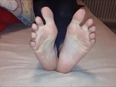 Maria bouge sa sexy (taille 39) pieds, partie 6