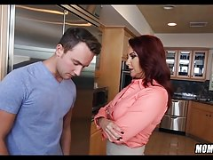 Cougar Scolds Him in the Kitchen