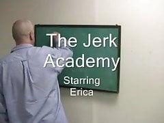 Eva przebrała się za uczennicę z nauczycielem