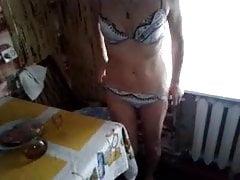 Moja żona doprowadza się do orgazmu