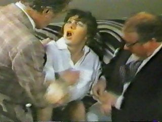 Vintage British Bdsm video: British Lady Traffic Cop at the Spanking Club