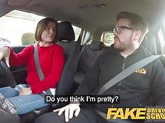 Fake Driving School Jealous learner wants hard fucking