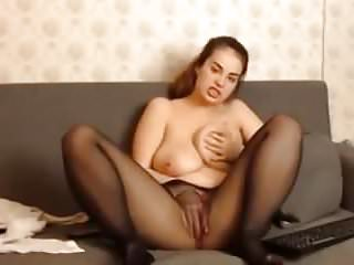 Lingerie Big Tits Pantyhose video: Girl on the issue!