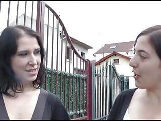 French Stockings Teen video: Daphnee fucks in a FFM threesome