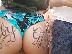 Ehrlich hübscher jiggly ass tatted !!