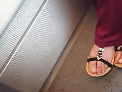 palce stóp arabskich 3 model nastolatek