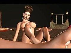 Fantasy und Fetisch 3D Kapitel 1 Fußszenen