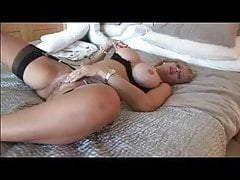 Busty Milf Strips Showers Plays Fingers Dresses and Goes Out