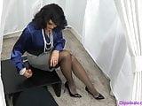 Mistress Femdom Handjob Shoejob