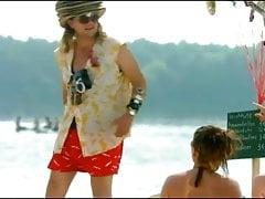 Anke Engelke na plaży