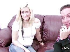 Housekeeping Teen verführen, um im Porno Casting zu ficken