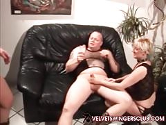 Velvet Swingers Club members Casais maduros trocando